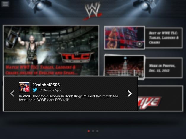 WWE App Fail