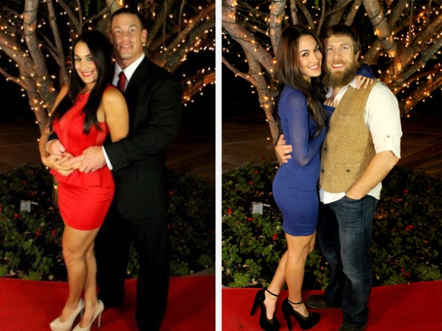 Cena & Bryan with The Bellas