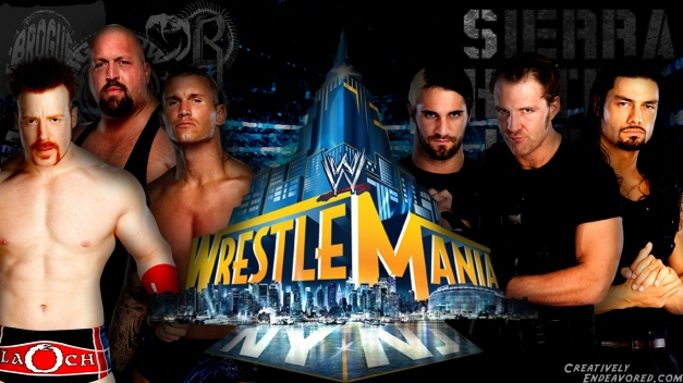 Sheamus, Randy Orton & Big Show vs The Shield - WrestleMania 29