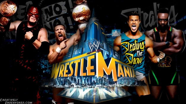 Team Hell No vs Dolph Ziggler and Big E Langston - WrestleMania 29