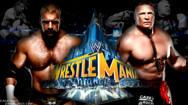 Triple H vs Brock Lesnar - WrestleMania 29