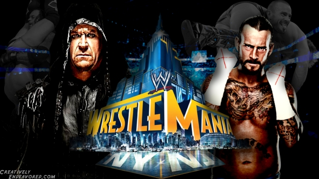 Undertaker vs CM Punk - WrestleMania 29