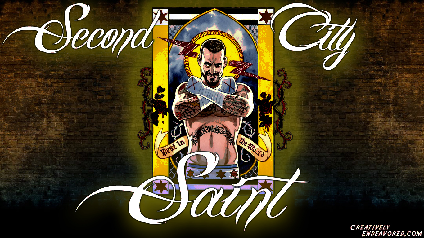 Wallpaper wednesday cm punk second city saint creatively cm punk second city saint voltagebd Image collections