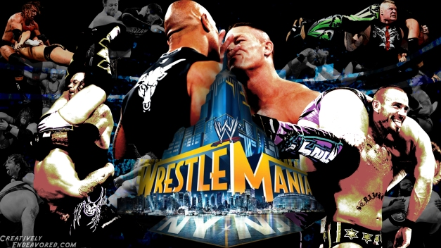 The Stars Of WrestleMania 29