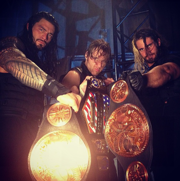 The Shield Wins Gold at Extreme Rules 2013